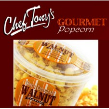 White Chocolate Walnut Flavored Popcorn by Chef Tony's