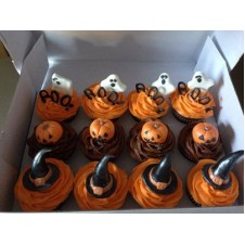 Halloween Cupcakes by Sugarhouse