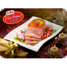 CDO Pear Shapped Ham 800 g.