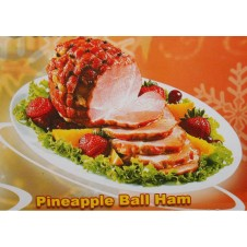 Virginia Pineapple Ball Ham 1k.