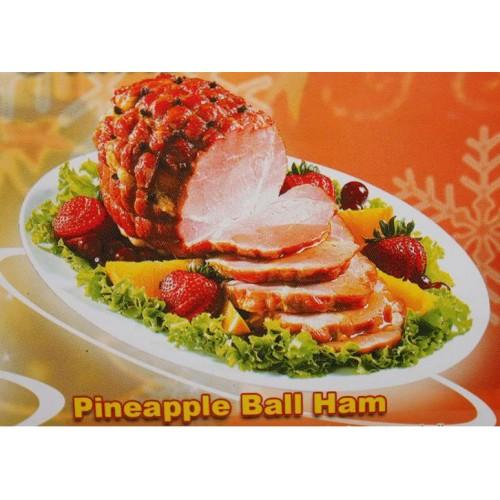 Virginia Pineapple Ball Ham 1k.