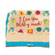 Hug A  Bear Themed Greeting Cake by Goldilocks