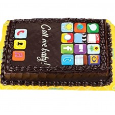 Icake Themed Greeting Cake by Goldilocks