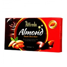 Alfredo Almond Dark Chocolate (228 g.)