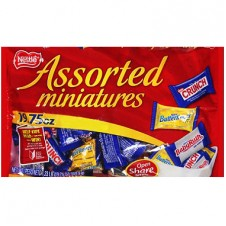 Nestle assorted Minis (311.8 g.)
