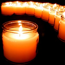 6 Pcs Wonderful Candles!