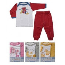 Long Sleeve Baby Tee Top & Pants Set