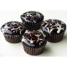 Midnite Bliss Cupcakes by Cookie Blossoms