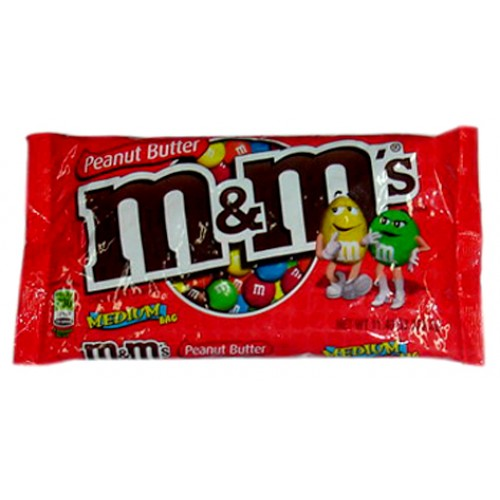M & M's Peanut Butter Chocolate Candies