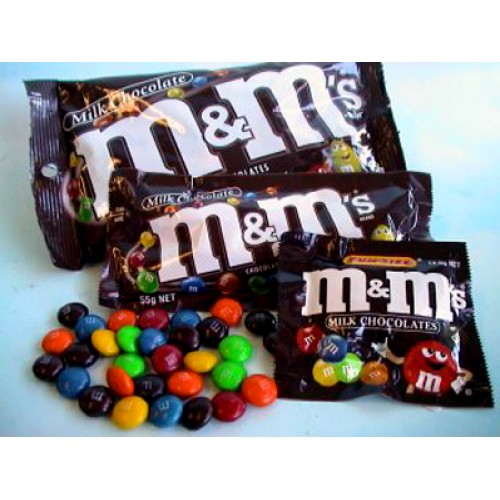M&M 2 packs