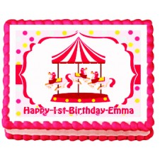 Carnival Theme Greeting Cake by Goldilocks