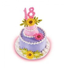 Spring Flowers Cake by Red Ribbon