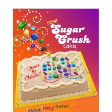Sugar Crush Themed Cake by Goldilocks