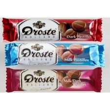 Droste Holland Pastilles 3 Assorted Chocolate Packs 85g