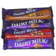 Cadbury Dairy Milk 4 Varieties 40g