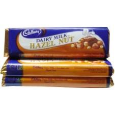Cadbury Dairy Milk Hazel Nut 3 Bars 45g