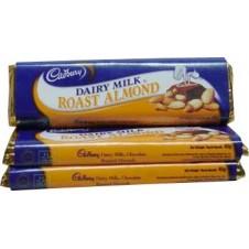 Cadbury Dairy Milk Roast Almonds 3Bars 45g
