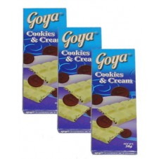 Goya: 3pcs Cookies & Cream 38g/each