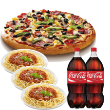 Sbarro Package Deal set 1 6-8 persons