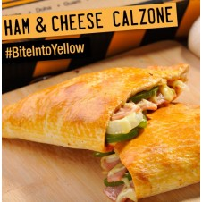 HAM AND CHEESE CALZONE by Yellow Cab