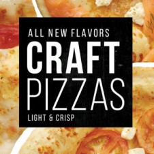 craft pizzas