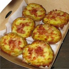 TWICE BAKED POTATO HALVES by Yellow Cab